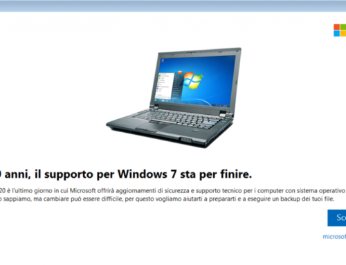 """Si avvicina la """"fine"""" di Windows 7"""