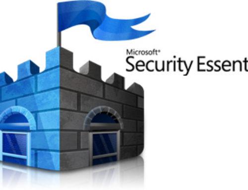 Aggiornamento Microsoft Security Essential dopo il  14 gennaio 2020